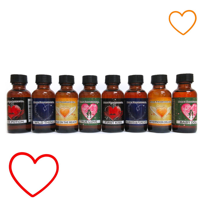 8PC Premium Fragrance Oils Romantic Scents Essential Aromatherapy Woman Gift Set