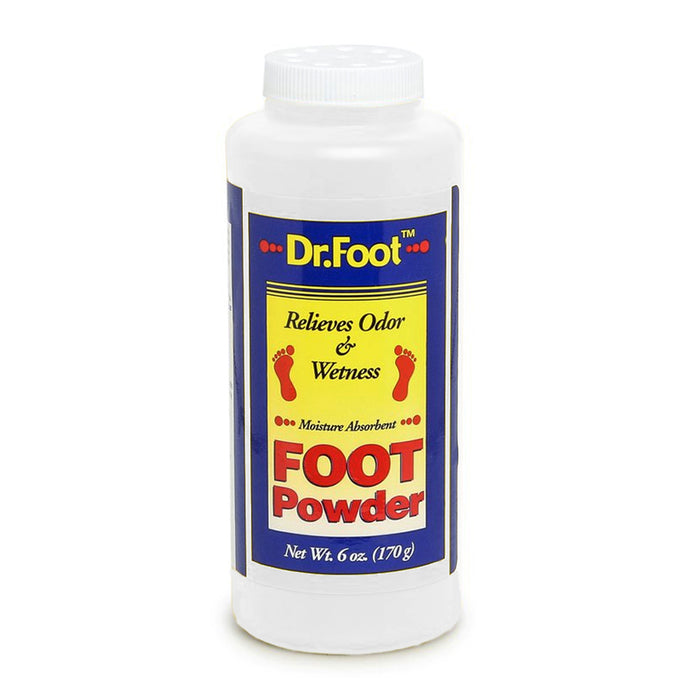 3 Dr Foot Powder Relieves Athlete Feet Odor Wetness Moisture Absorbent Cools 6oz