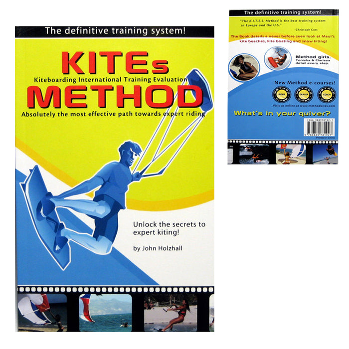 Kites Method Kiteboarding Book by John Holzhall (Kites Method Da Book) Brand New