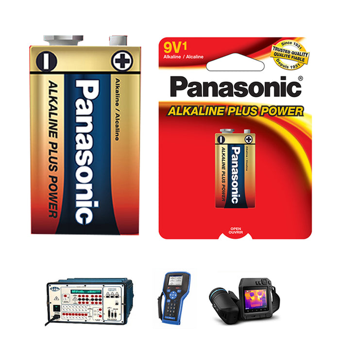 1 Pack Alkaline Plus Battery 9V Long Lasting Power Source 9 Volt General Purpose