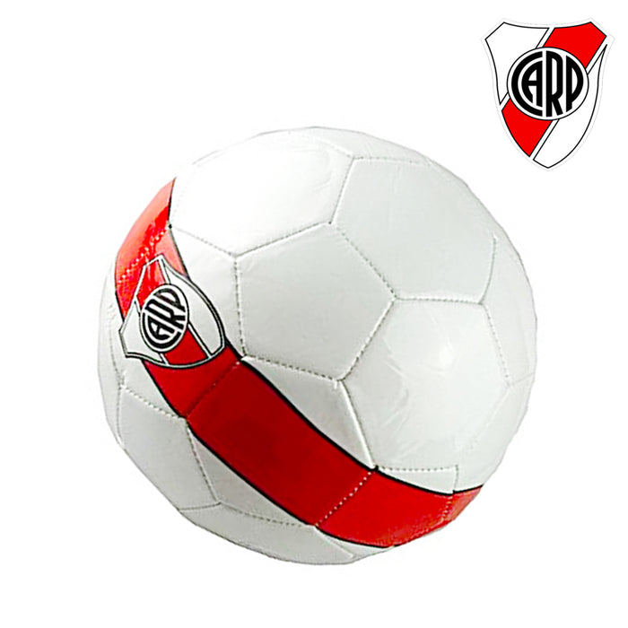 Argentina River Plate Carp Soccer Ball Size 5 Red & White Practice Games Matches