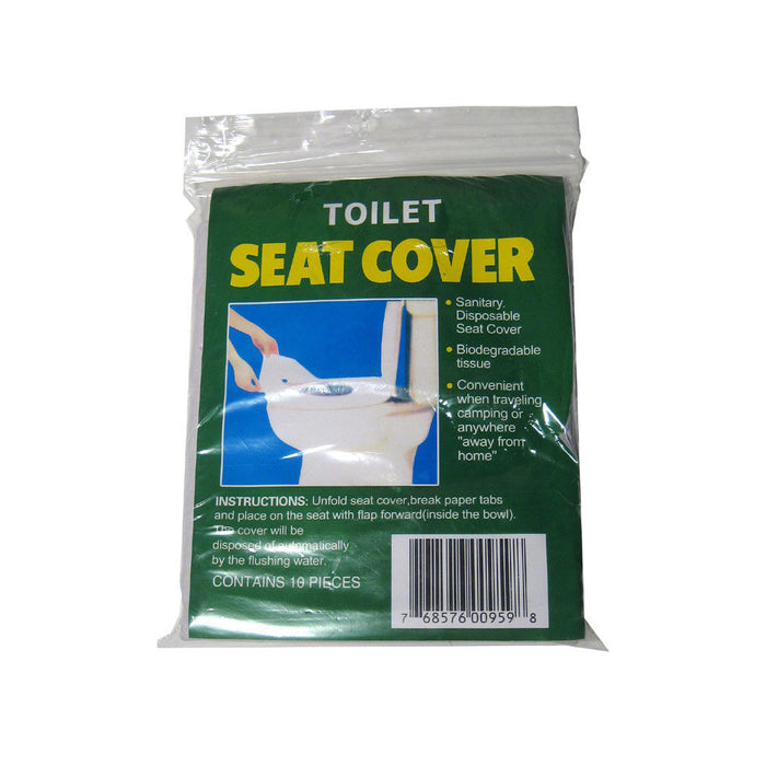 50 Disposable Toilet Seat Covers Paper Travel Biodegradable Disposable Sanitary