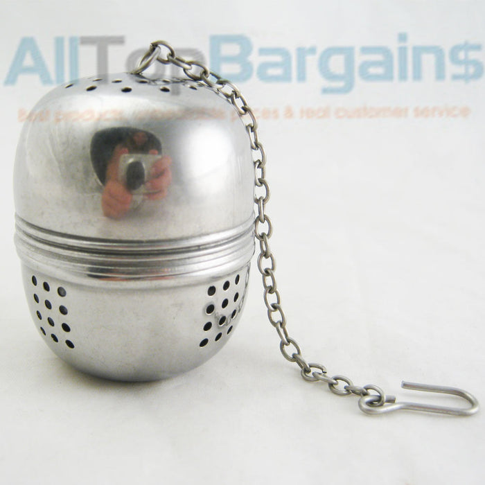Stainless Steel Ball Tea Infuser Mesh Filter Strainer Loose Leaf Spice Reusable