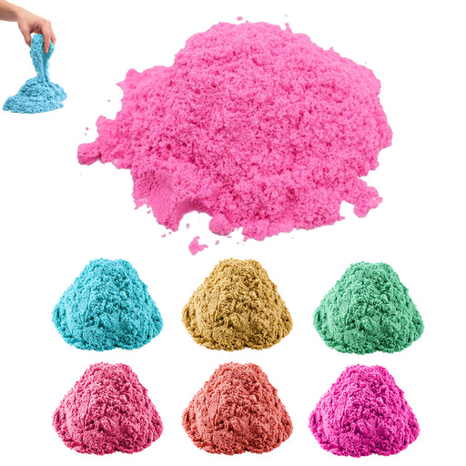 Magic Motion Cotton Sand 112g Kids DIY Indoor Play Craft Non Toxic Toy Slime Fun