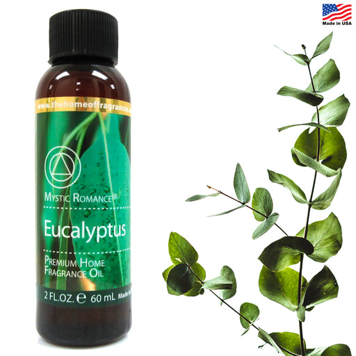 1 Essential Oil Eucalyptus Scent 60mL Aromatherapy Diffuser Air Fragrance Burner