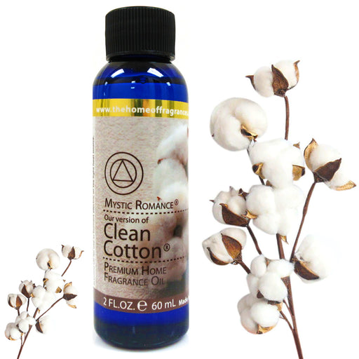 1 Clean Cotton Fragrance Oils Aroma Therapy Scent Home Air Diffuser Burner 60ml