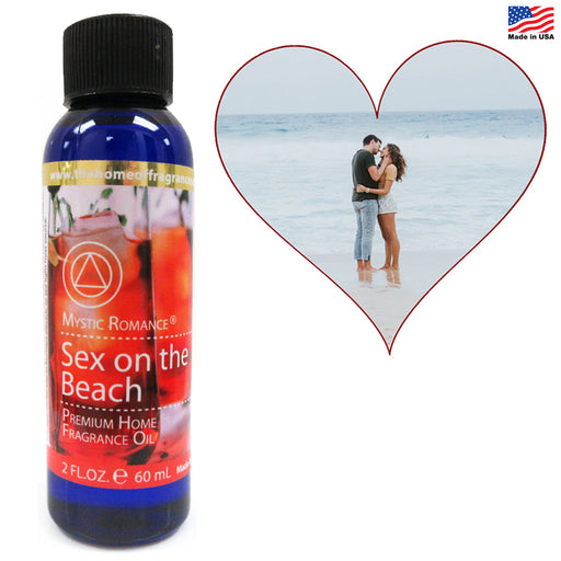 1 Aroma Therapy Oil Home Fragrance Spa Air Diffuser Burner Sex on The Beach 60ML