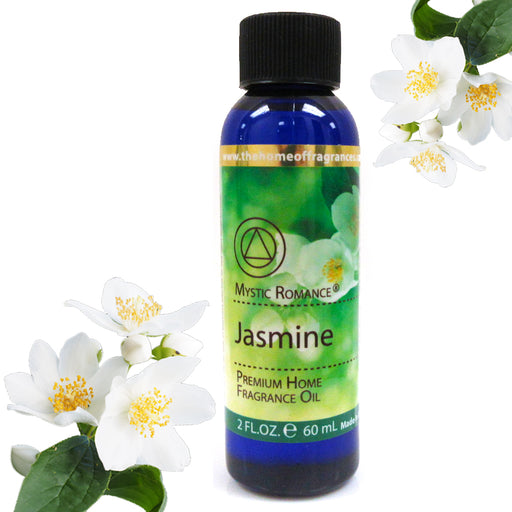 1 Jasmine Flower Scent Aroma Therapy Oil Home Fragrance Air Diffuser Burner 2 oz