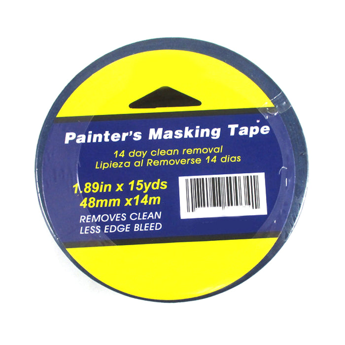 "4 Rolls Multi Surface Painters Masking Paint Tape Arts Crafts 1.89"" x 15 Yd Blue"