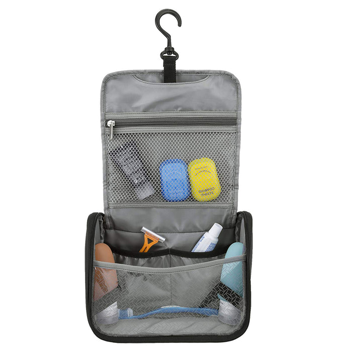 Travel Toiletry Cosmetic Bag Hanging Organizer Case Portable Storage Makeup Tote