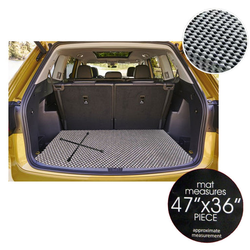 1 Anti-Slip Auto Trunk Mat Floor Trimmable Vehicle Car Truck Van Pet Cover 47x36