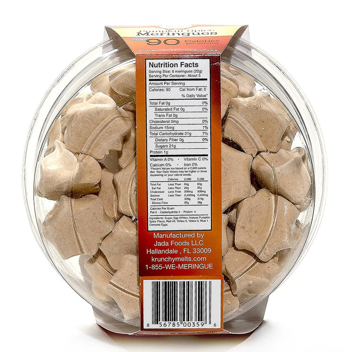 3 Boxes Pumpkin Spice Meringue Cookies Gluten Low Calorie Sweet Holiday Snack