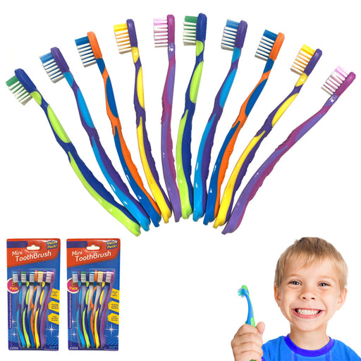 10 Pc Kids Toothbrush Toddler Oral Care Fun Cleaning Teeth Brush Soft Bristles