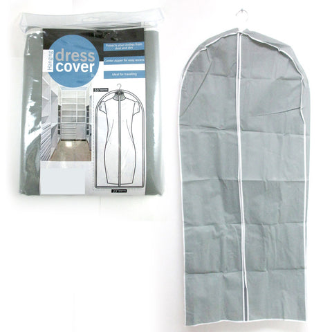 1 Dress Gown Suit Garment Bags Breathable Storage Cover Coat Foldable Travel 53