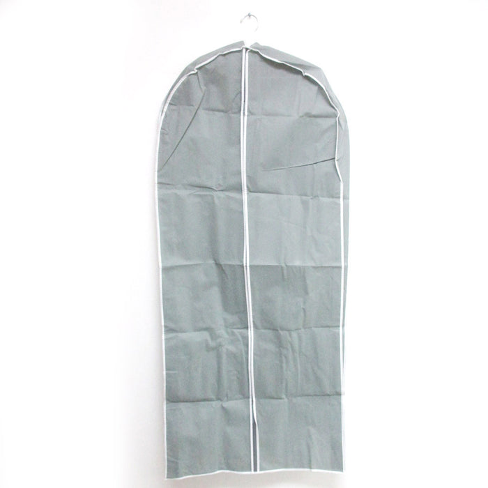 "5 Long Dress Gown 53"" Suit Garment Bags Breathable Storage Cover Foldable Travel"