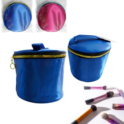 2 Portable Cosmetic Bag Makeup Zipper Case Travel Tote Toiletry Pouch Organizer