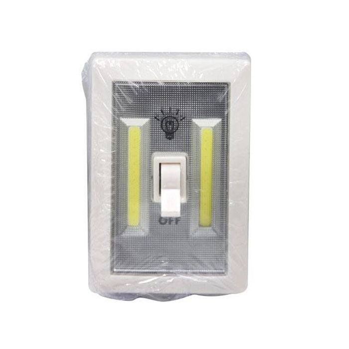 1 COB Light Switch Lamp Wireless Closet Night Wall Lights Battery Operated LED