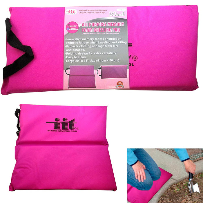 ... Kneeling Pad Cushion Memory Foam Soft Comfort Sitting Garden Knee Pads  Gardening