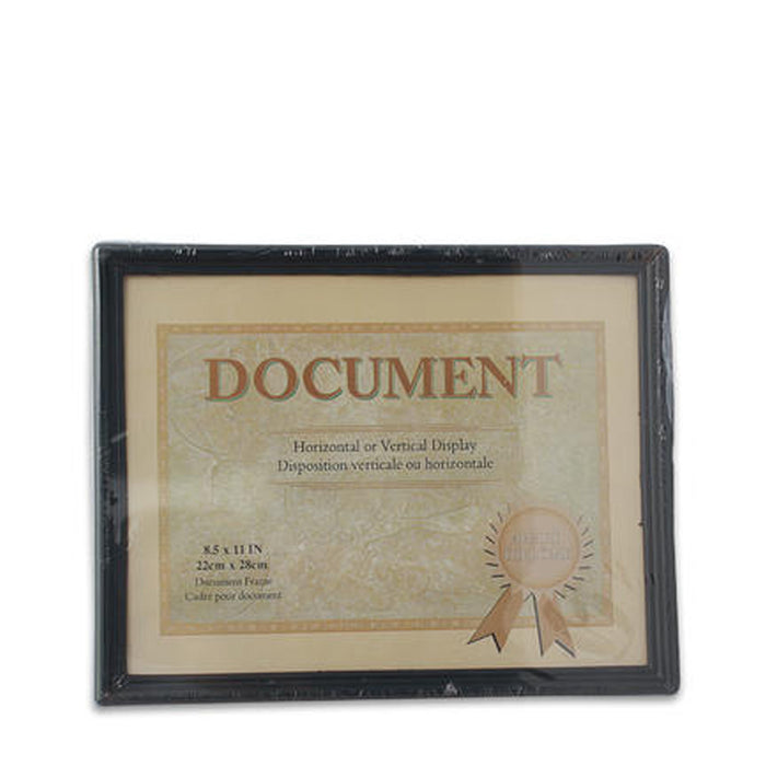 "2 Pcs Document Diploma Frame 8.5""x11"" Certificate Photo Picture Black Border New"
