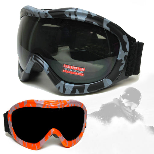Ski Goggles Winter Sports Anti-Fog Snowboard Snowmoblie Glasses Double Layer NEW