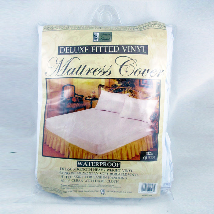 Premium Queen Size Mattress Soft Protector Waterproof Fitted Bed Cover Anti Dust
