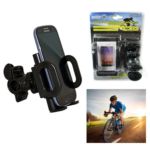 Universal Rotating Bicycle Cell Phone Mount Handlebar Bike GPS Cellphone Holder