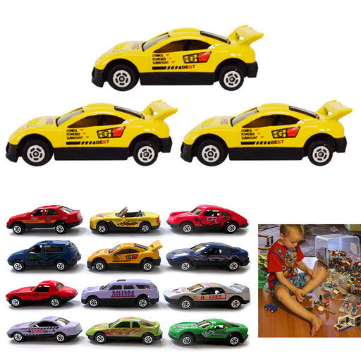 3pc Toy Cars Top Speed Diecast Metal Model Vehicle Collectible Assorted Boy Gift
