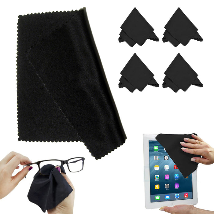 5 PC Microfiber Optical Cleaning Cloth Eyeglass Lens Lcd Camera Car Computer Lot