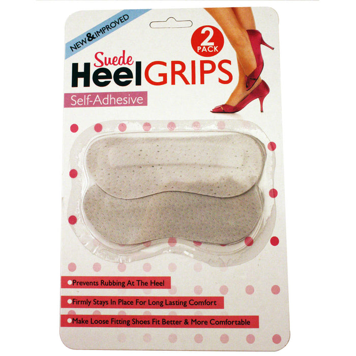 Slip Suede Heel Grips Self Adhesive Pads Shoe Insoles Insert Women Footcare New