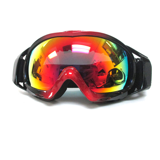 1 Adult Snowboard Ski Goggles Anti-Fog Smoke Double Lens Motocross Sunglass Snow