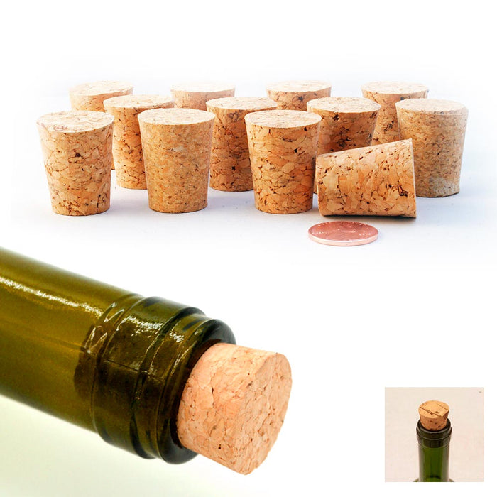 16 Tapered Wine Stopper Plug Cap Bottle Cork Plug Decantor Wooden Jar Spout Brew