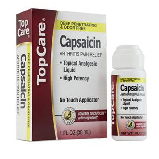 1 Capsaicin Arthritis Pain Relief Topical Analgesic Liquid High Potency Soothing