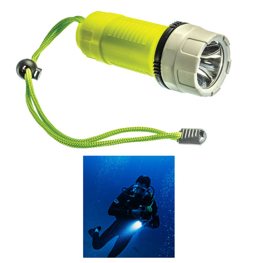 1 Dive Light Underwater 200 Lumens Diving Waterproof Flashlight Scuba Torch 50ft
