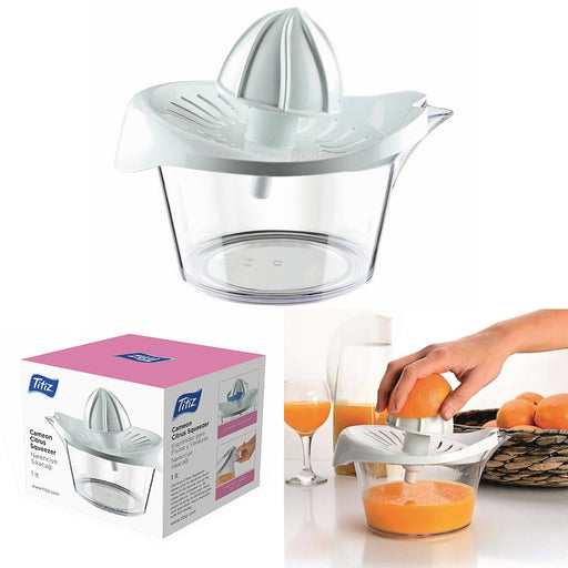 Citrus Squeezer Hand Press Manual Fresh Fruit Juicer Juice Lemon Extract 1 Liter