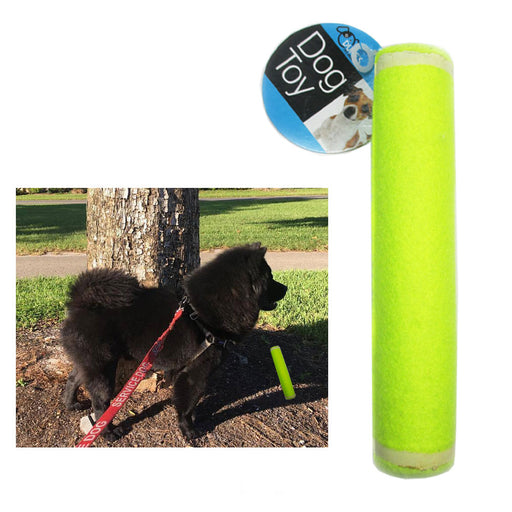 1 Pet Tennis Ball Stick Dog Toys Squeaky Play Fetch Games Park Fun Game Training