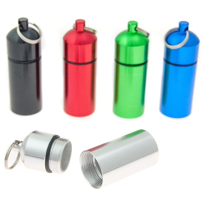 5 Micro Caches Geocache Geocaching Bison Tubes Tube Best Quality Pill Container