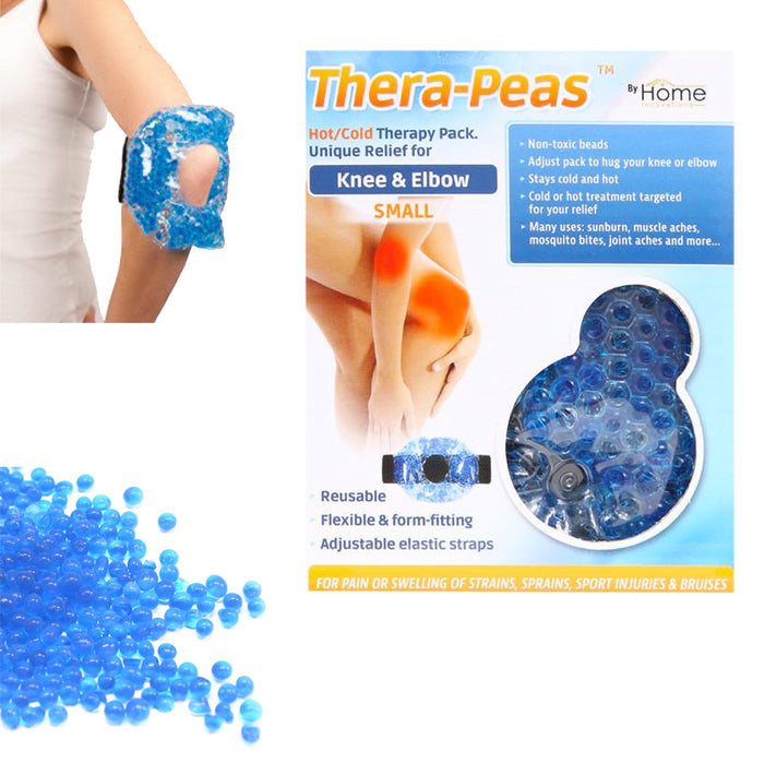 Reusable Hot Cold Gel Ice Pack Heat Therapy First Aid Arm Back Knee Pain Relief