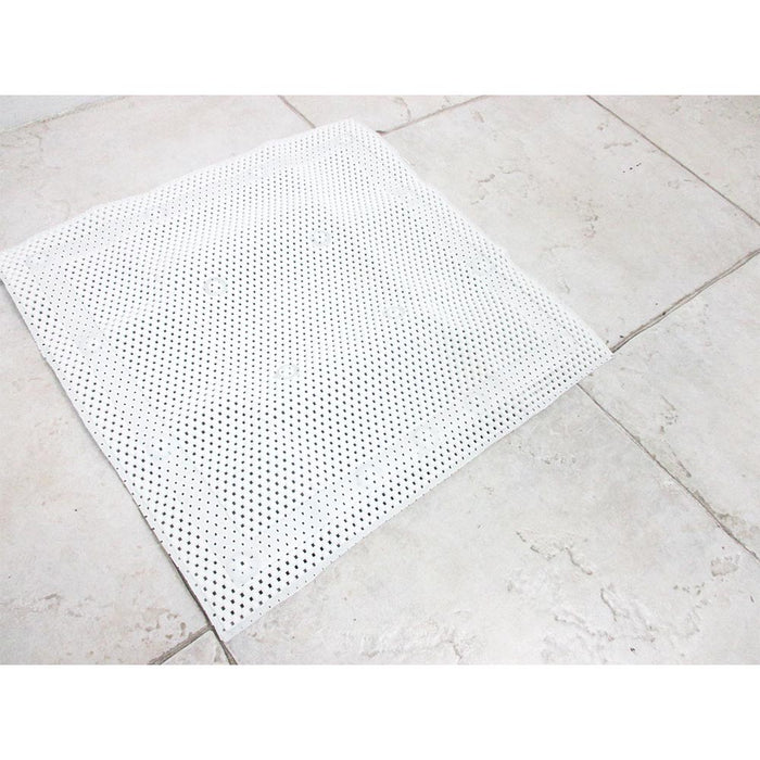 "Non Slip Shower Mat Rug Aqua Carpet Bath Water Bathroom Safe Protection 20""x20"""