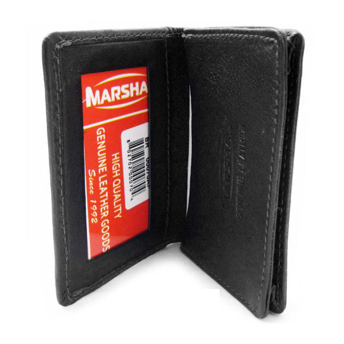 RFID Wallet Card Holder Id Credit Blocking Leather Money New Mens Genuine Black