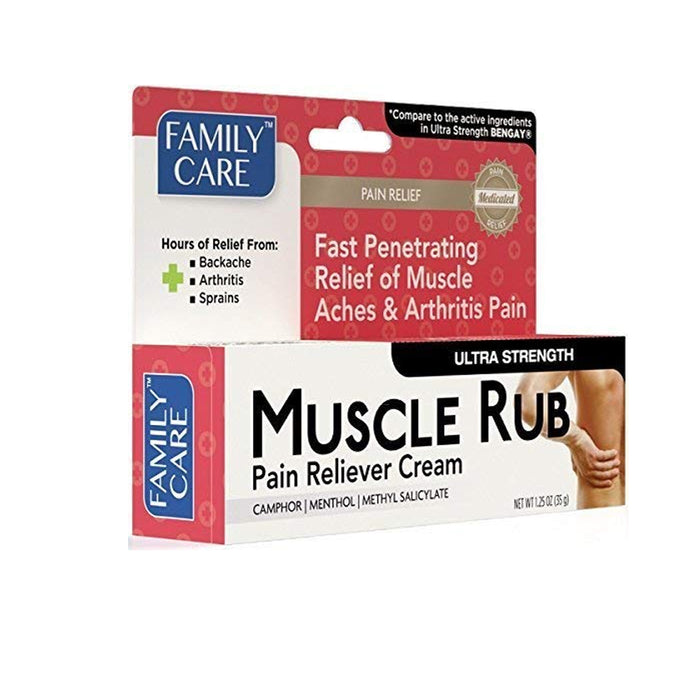 1 Muscle Rub Gel 1.25 oz (35g) Fast Acting Ultra Strength Pain Relief Cream
