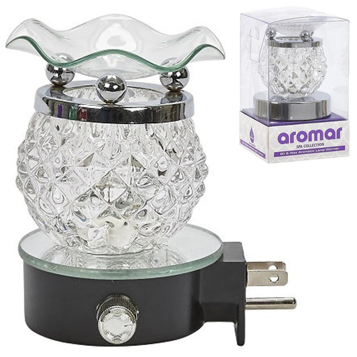 1 Electric Oil Warmer Fragrance Scented Lamp Burner Scent Air Fragrance Diffuser