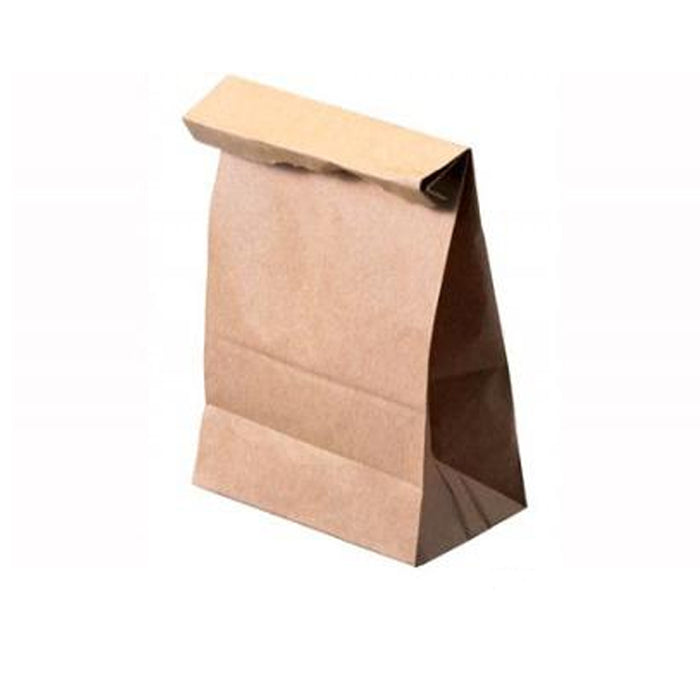 cec512dad8c6 80 Brown Paper Lunch Bags Snack Bags Kraft Paper Merchandise Grocery Party  Bags