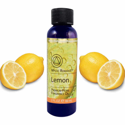 1 Lemon Citrus Scent Aroma Therapy Oil Home Fragrance Air Diffuser Burner 2oz