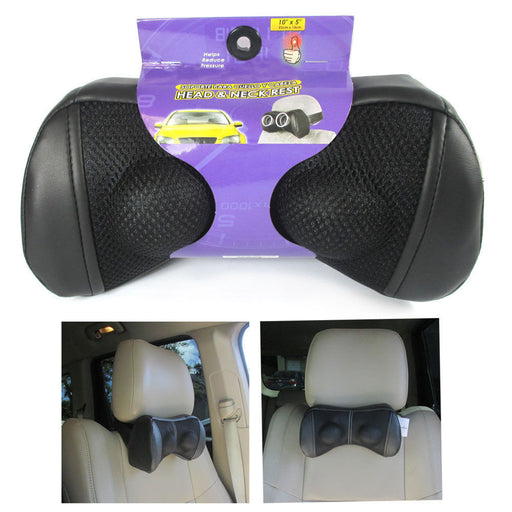1 Travel Car Head Neck Rest Auto Seat Airplane Cushion Pad Headrest Pillow Nap