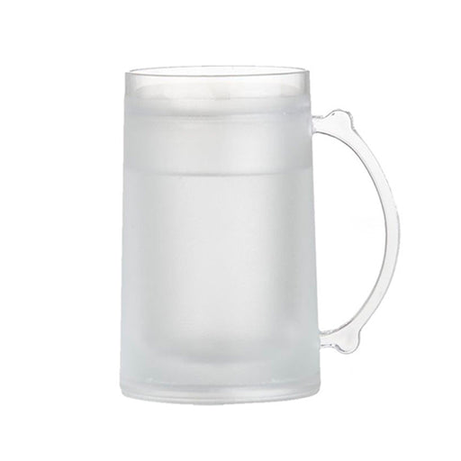 1 Frosty Freezer Mug 14oz Beverage Cooling Device Beer Plastic Cup Cold Soda New