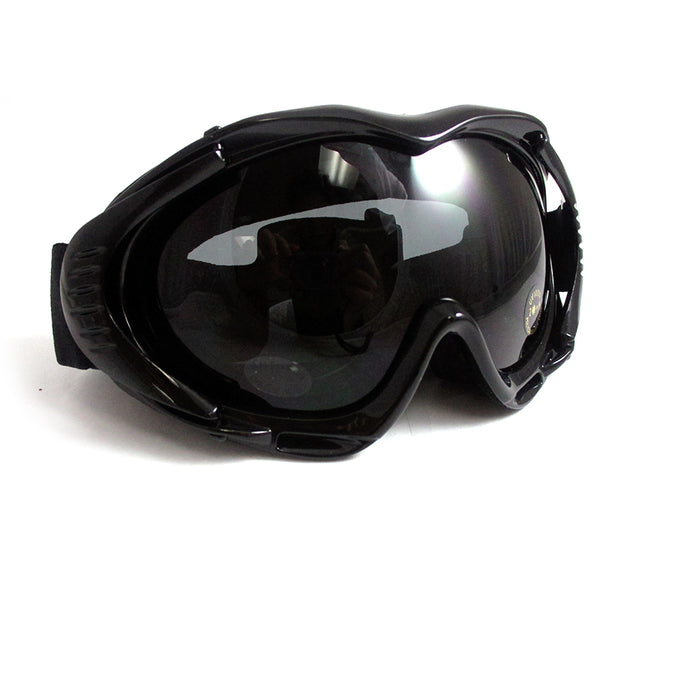 ATB Ski Snow Goggles Snowboard Lens Glasses Skiing Sun Sports Adult Unisex Black