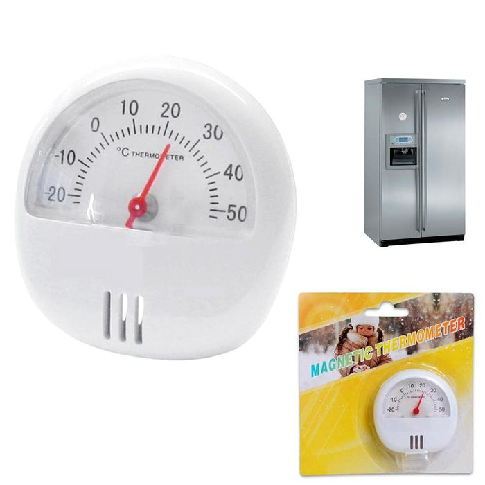 Magnetic Thermometer Stand Indoor Outdoor Surface Kitchen Monitore Temperature