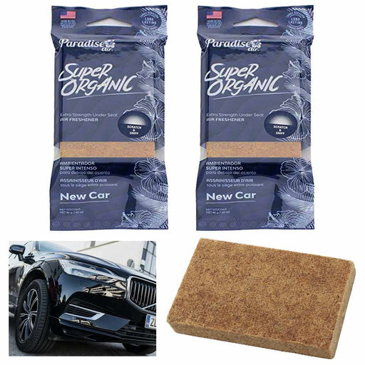 2 Pc Scent New Car Air Freshener Block Stone Under Seat Office Home Fragrance
