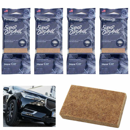 4 Pc Scent New Car Air Freshener Block Stone Under Seat Office Home Fragrance