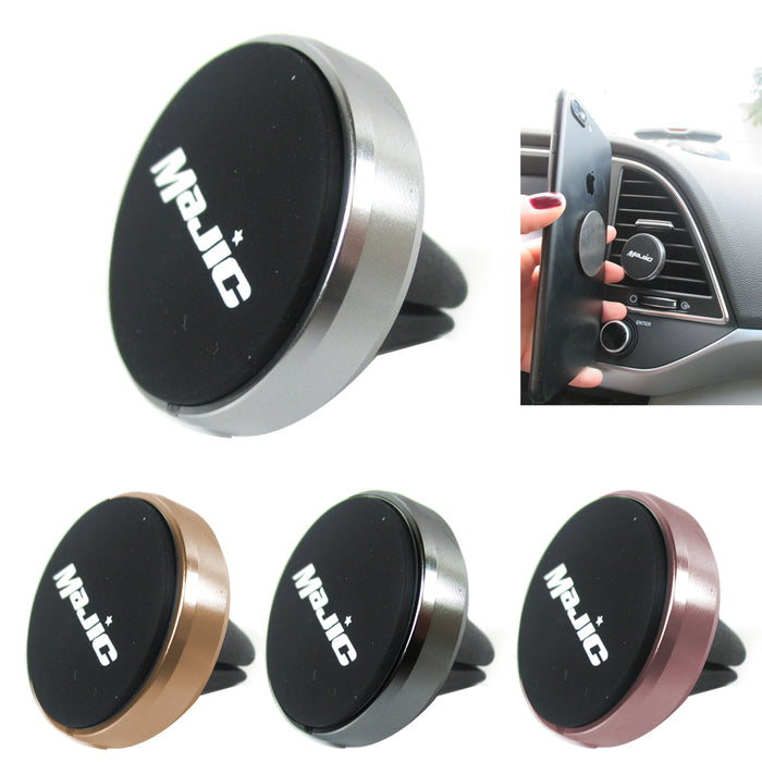 1 Magnetic Car Mount Holder Universal Cell Phone GPS Air Vent Dash Mobile Cradle